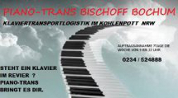 Pianotrans Klaviertransport Bochum Flügeltransporte